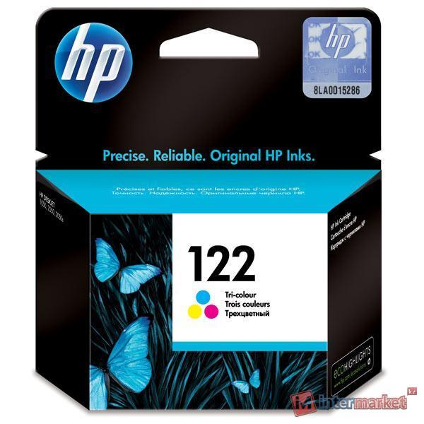Трехцветный струйный картридж HP 122 (CH562HE)