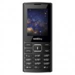 Мобильный телефон Nobby 210, черно-серый