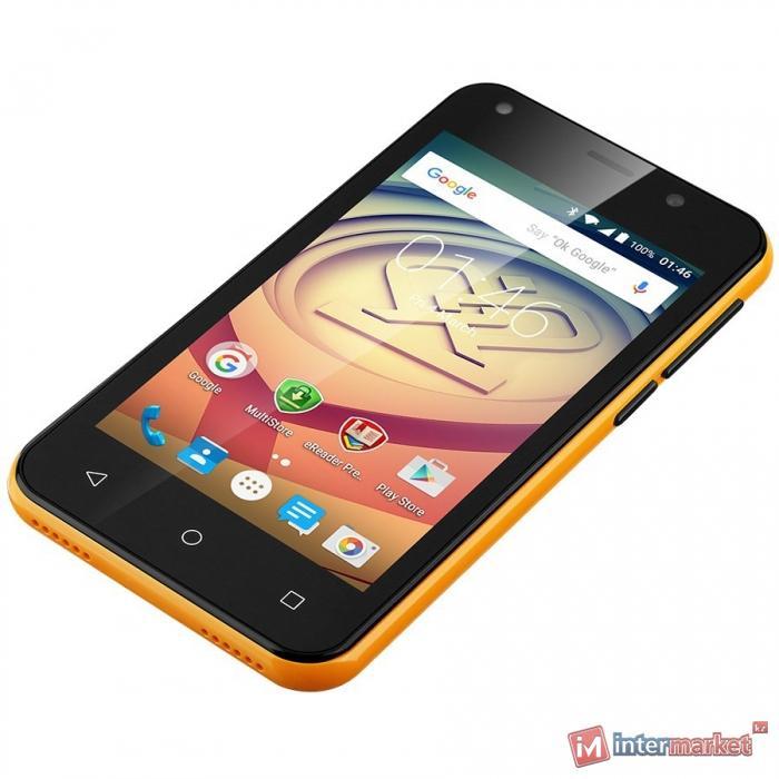 Смартфон Prestigio MultiPhone Wize L3, Orange