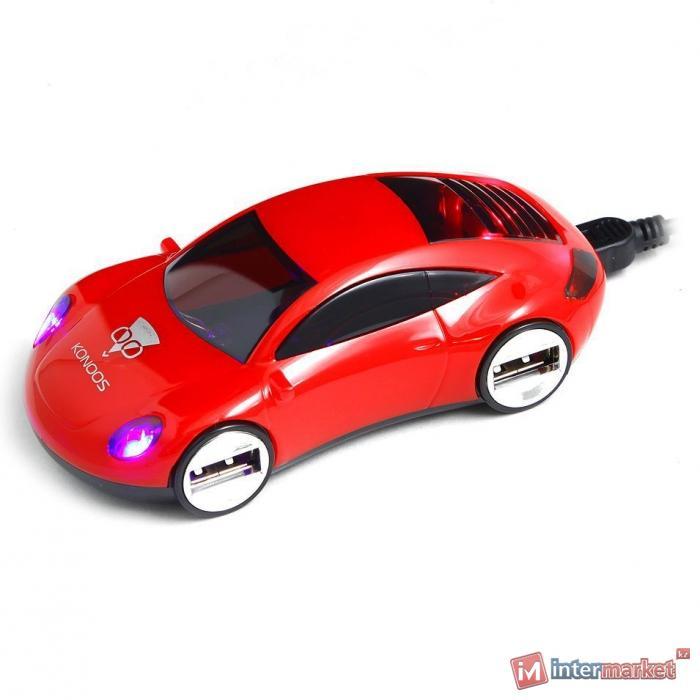 Концентратор USB Konoos UK-46, Автомобиль